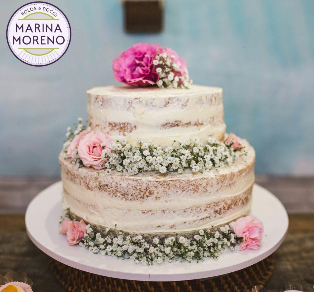 naked cake de casamento