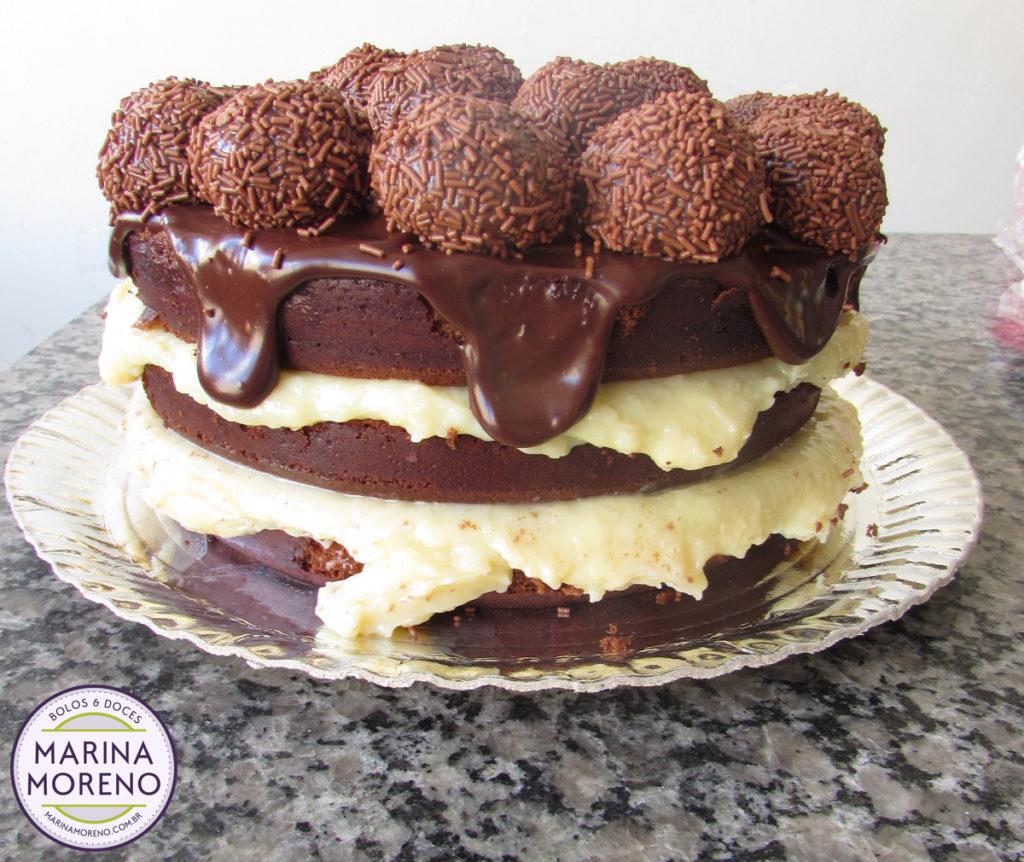 naked cake encomenda