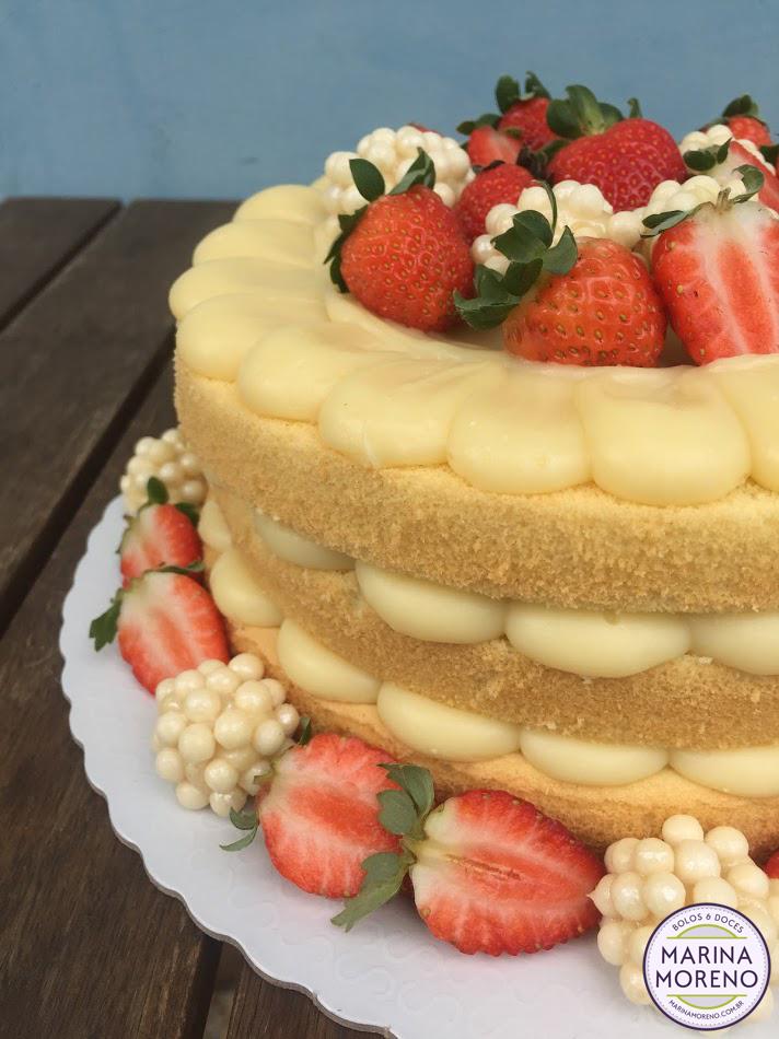 naked cake recheio 4 leites